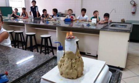 Laboratório – Vulcão – 4º ano