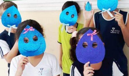 Os alunos do Período Integral vivenciaram atividades no Dia Mundial da Água.