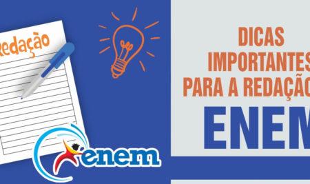 Dicas importantes para a redação do ENEM