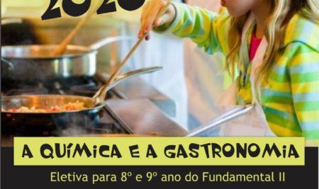Novidade 2020 – A Química e a Gastronomia